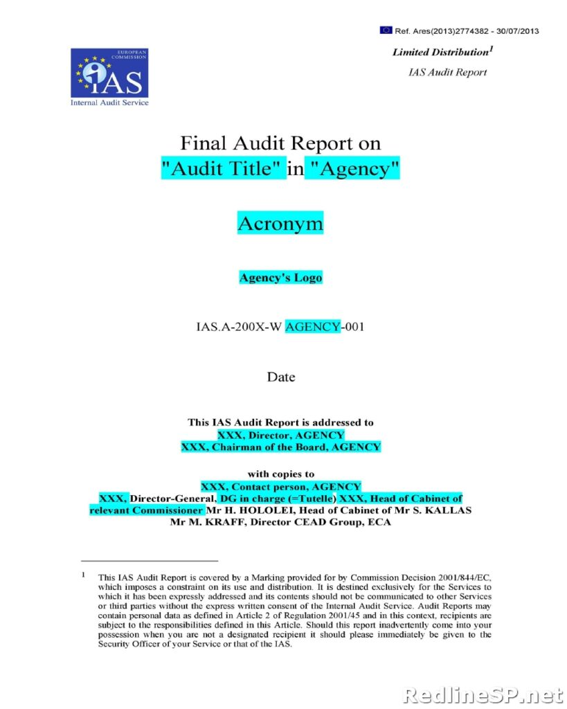 Audit Report 01