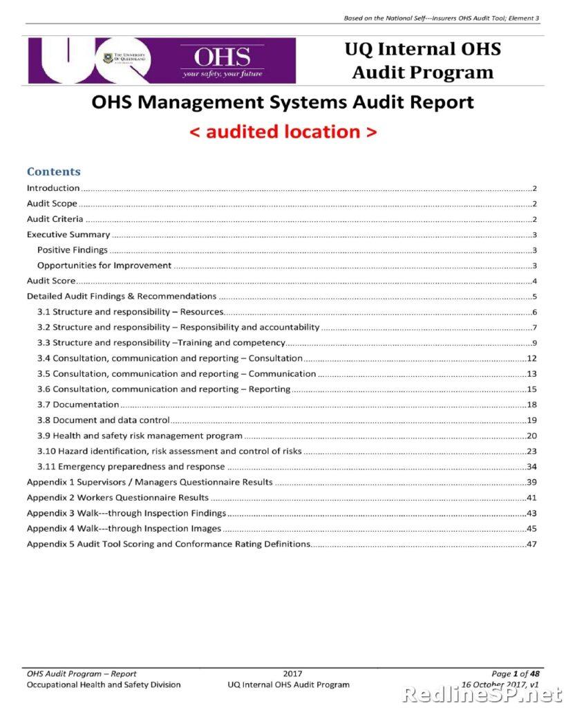 Audit Report 03
