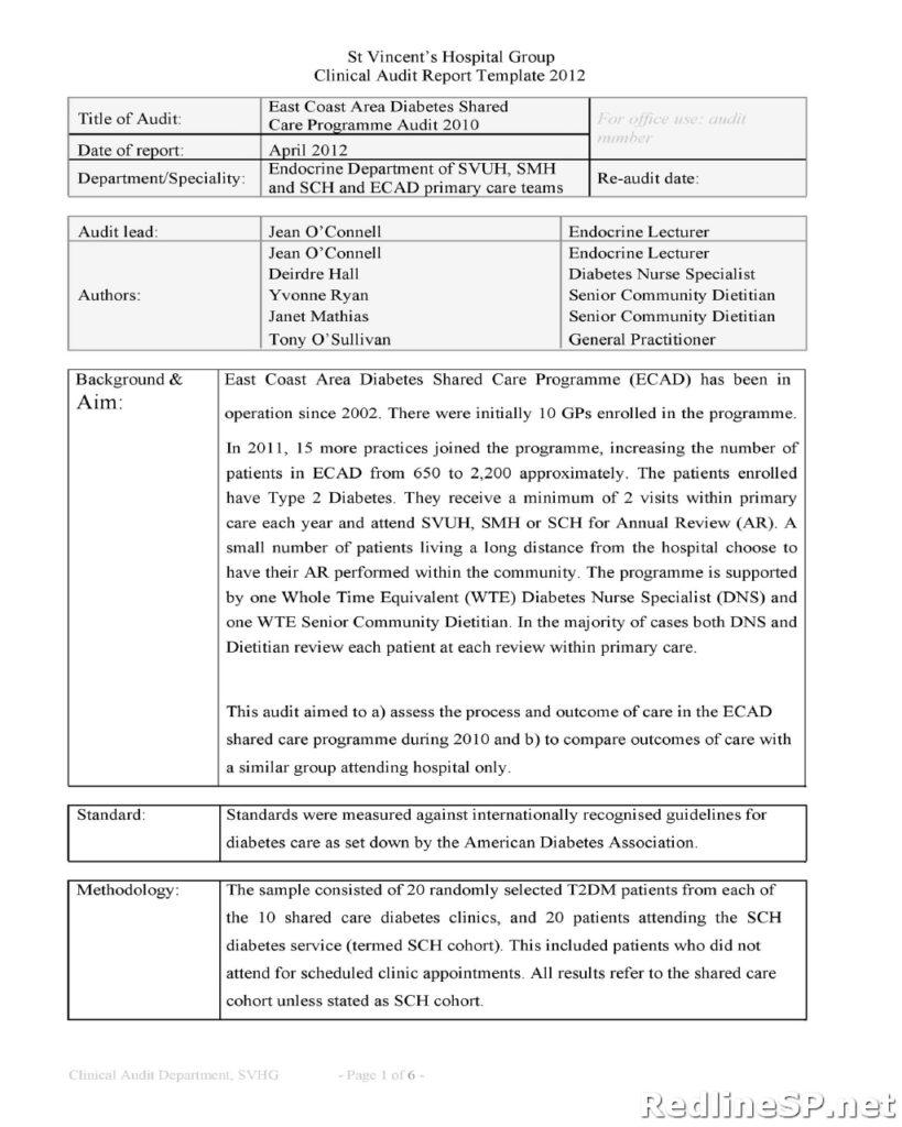 Audit Report 05