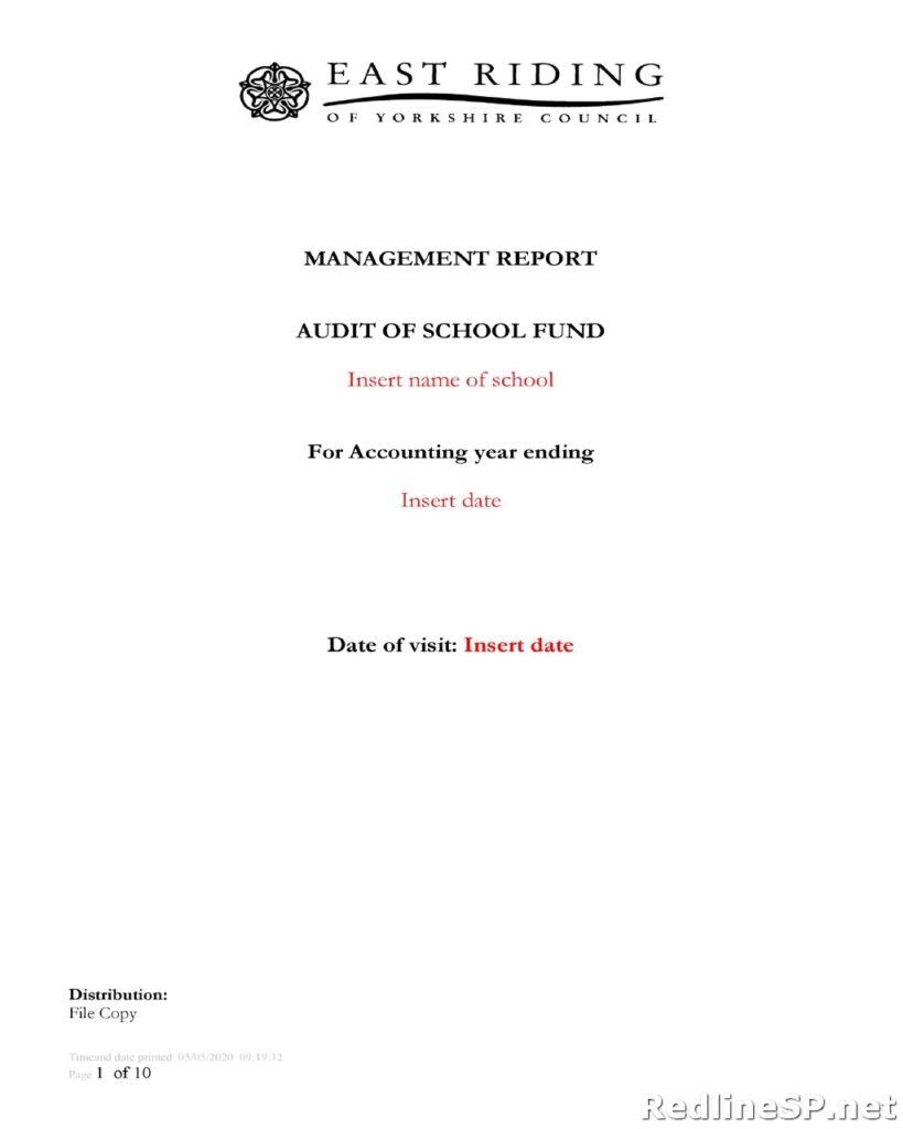 Audit Report 07