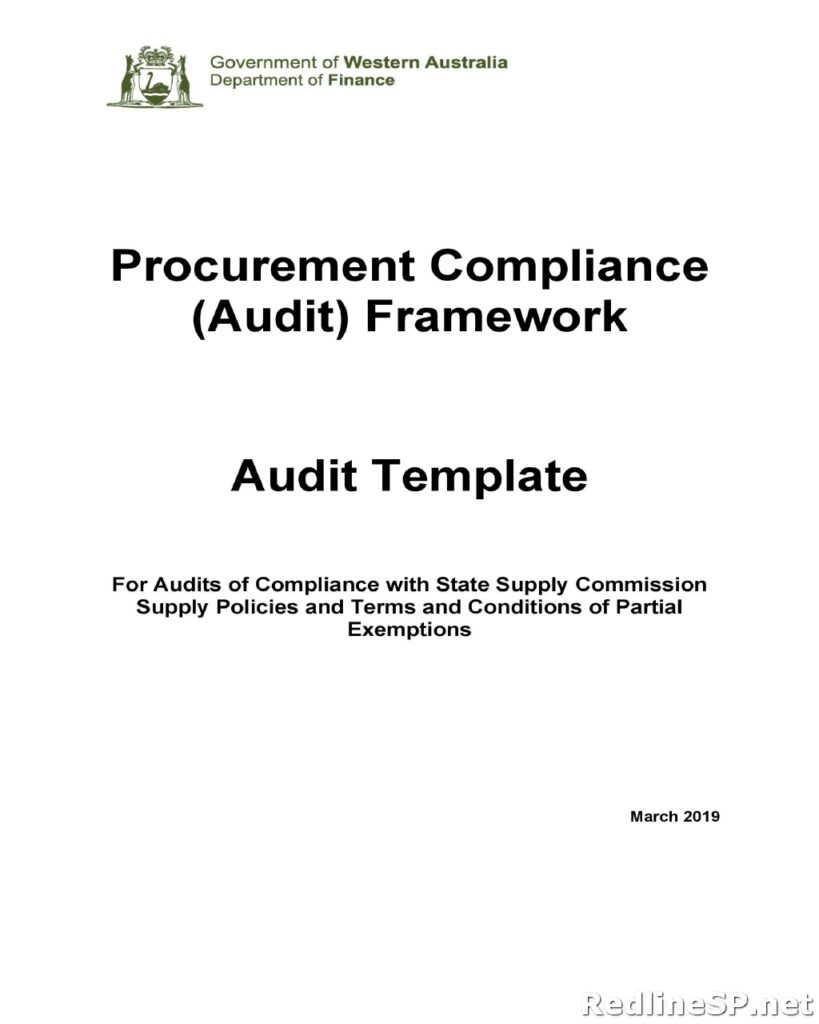 Audit Report Example 36