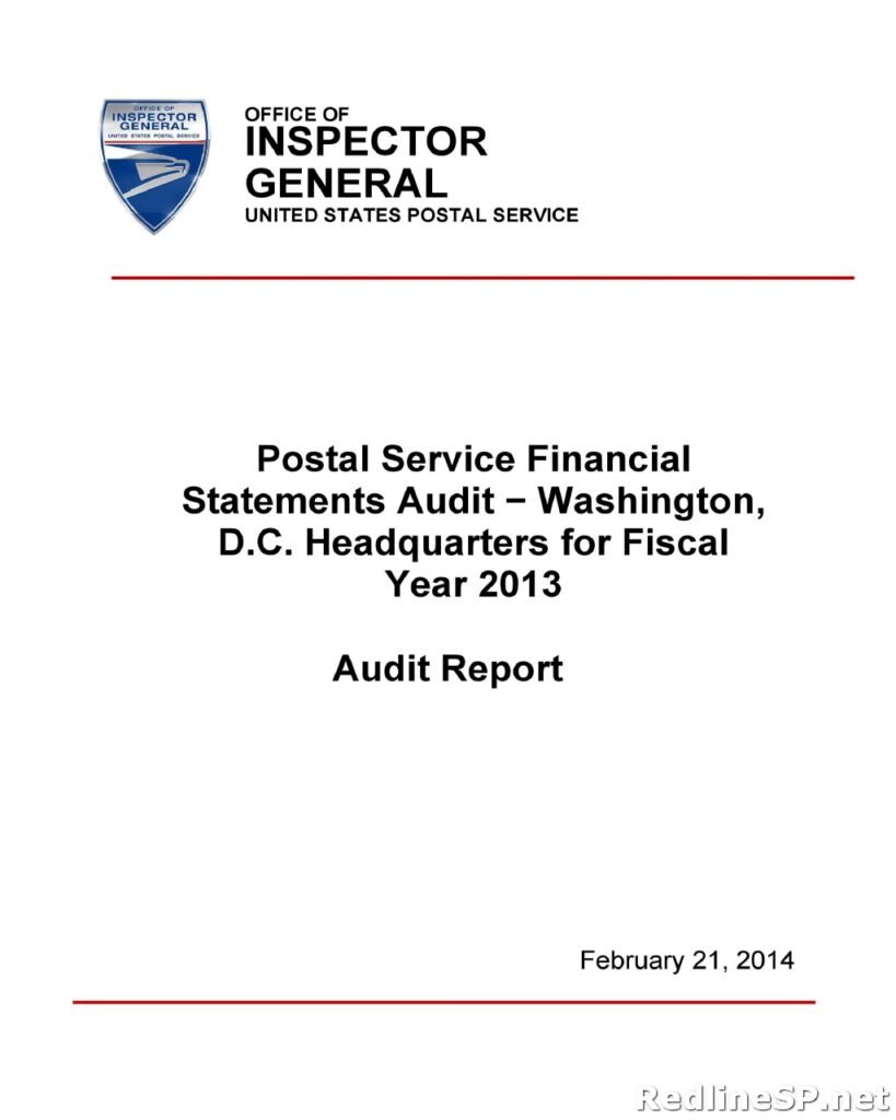 Audit Report Sample 45