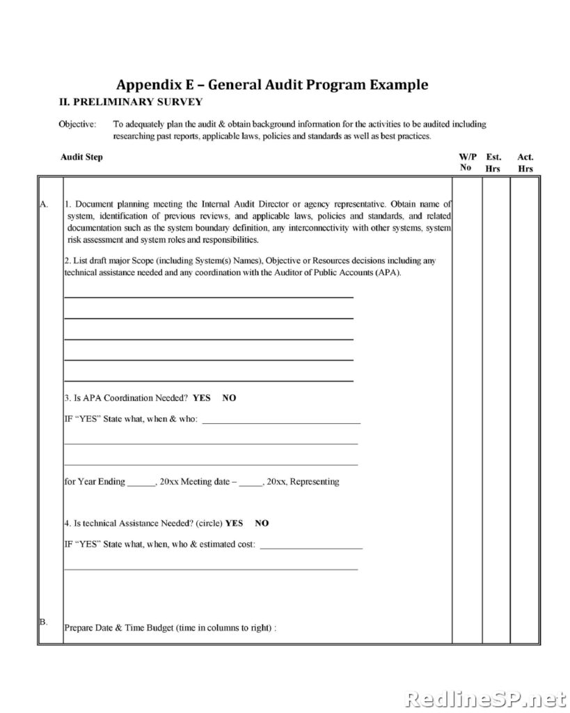 Audit Report Template 14