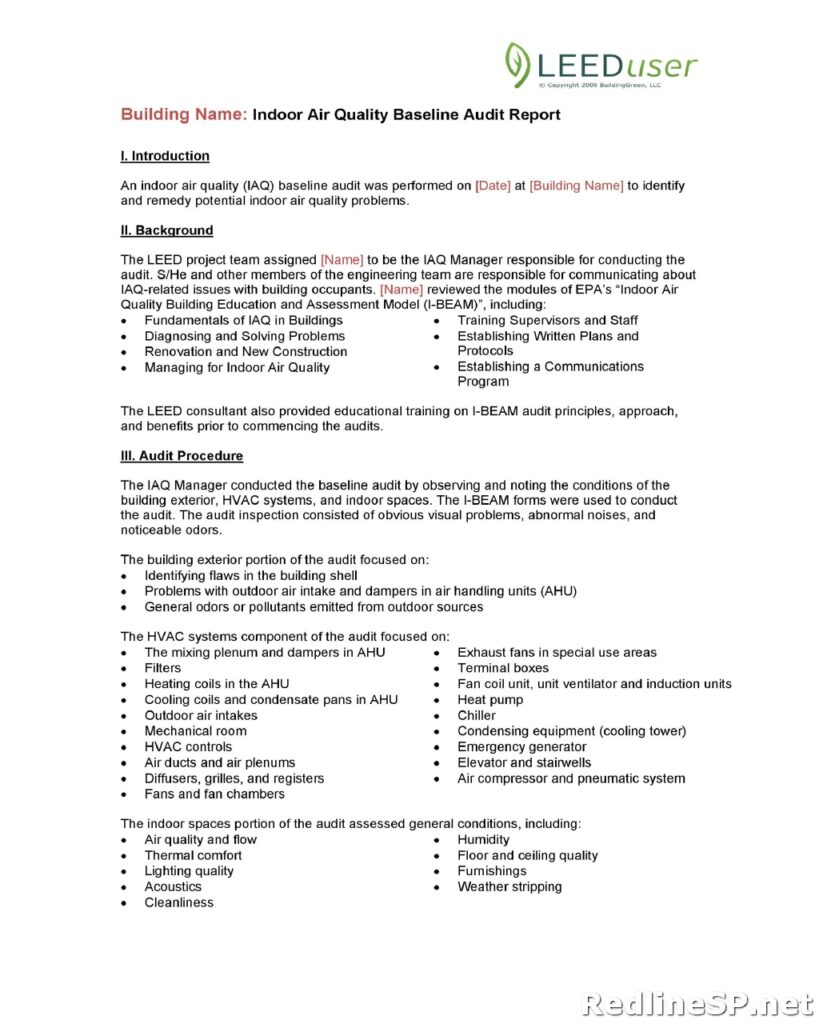 Audit Report Template 24
