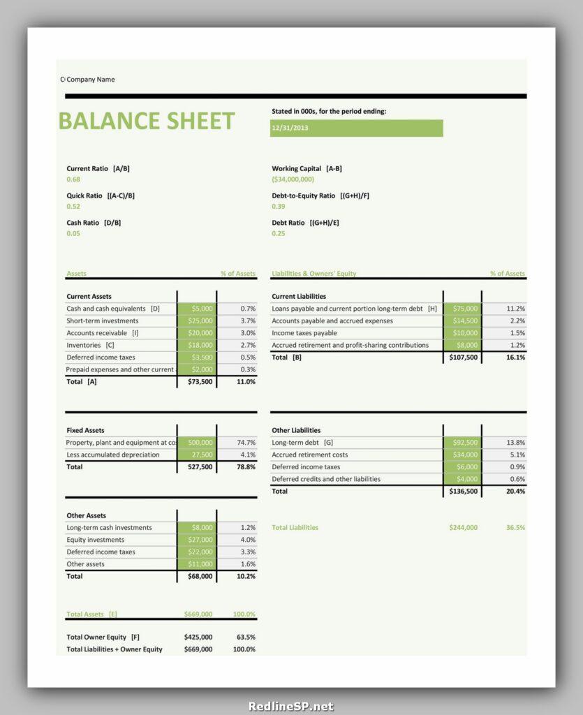 Balance Sheet 03