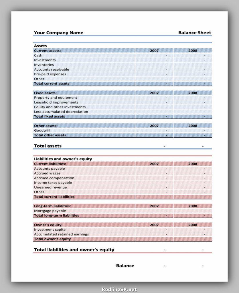 Balance Sheet 06
