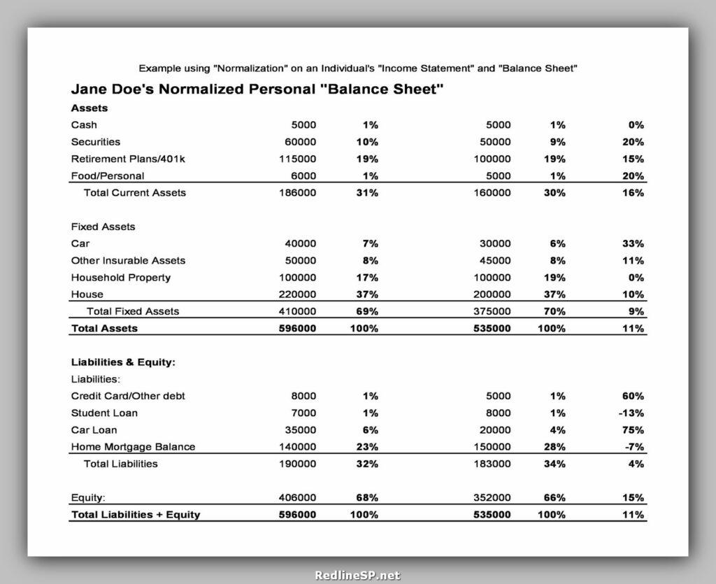 Balance Sheet Format 26