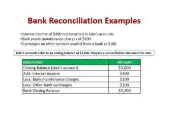 Bank Reconciliation image
