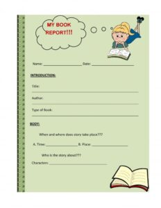 Book Report Example 05