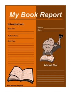 Book Report Example 06