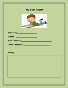 Book Report Example 09