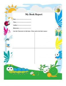Book Report Example 16