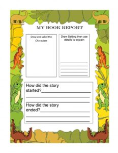 Book Report Example 20