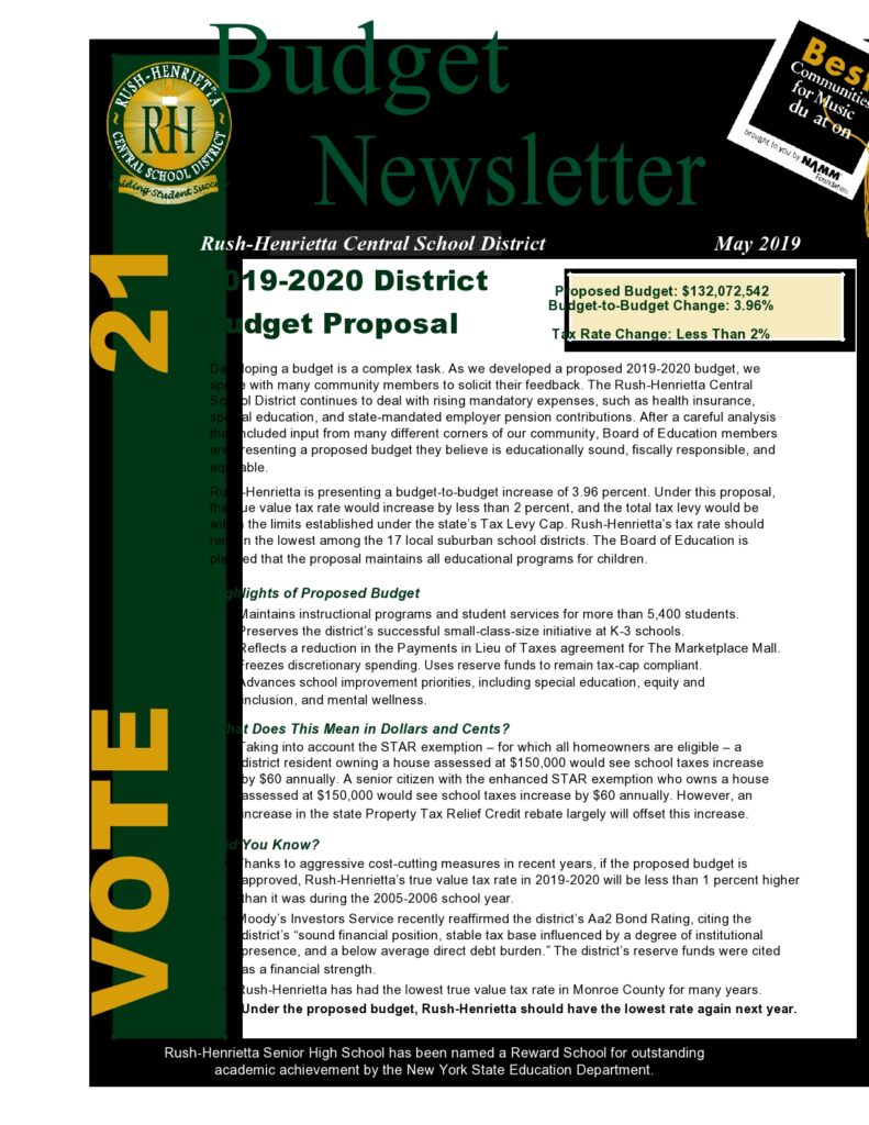 Budget Proposal Example 27
