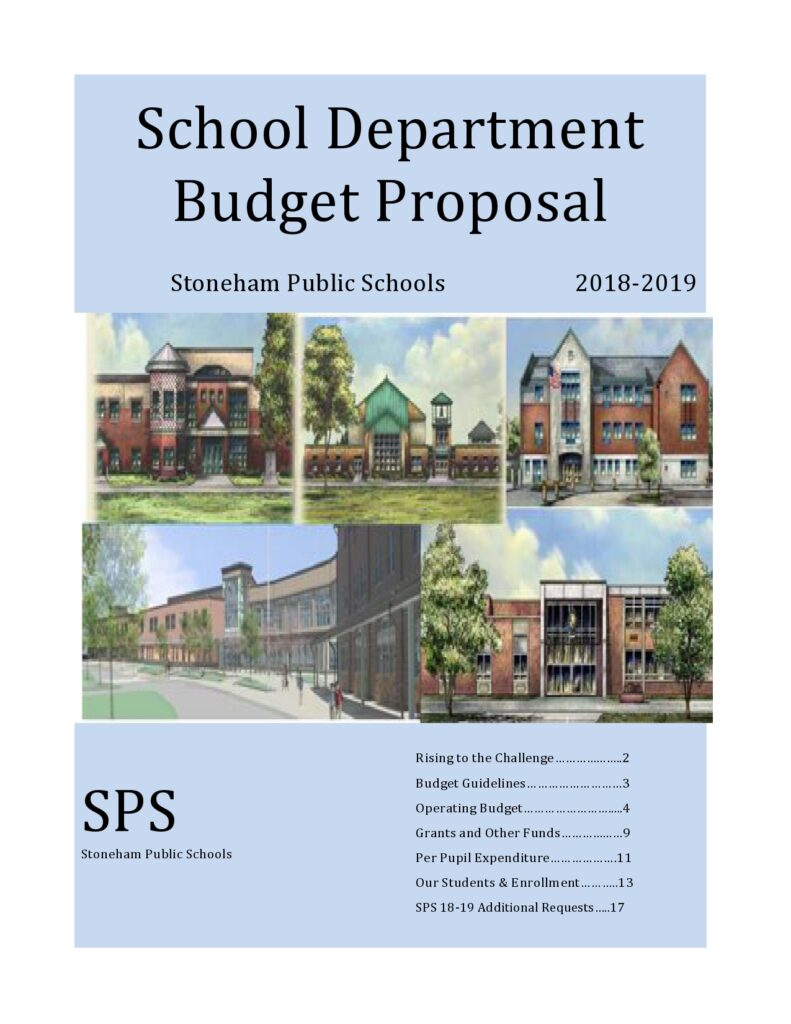 Budget Proposal Example 48