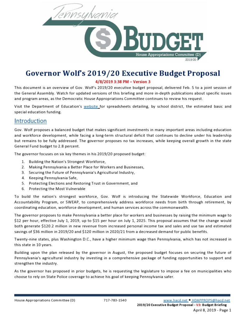 Budget Proposal Sample 41