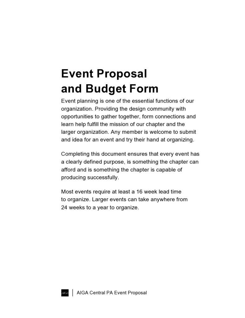 Budget proposal template 22