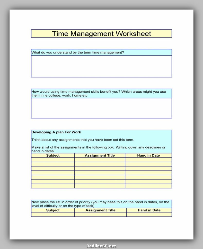 Business Goal Setting Worksheet 02