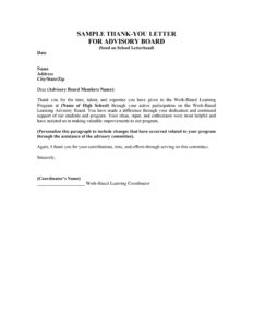 Business Thank you Letter 01