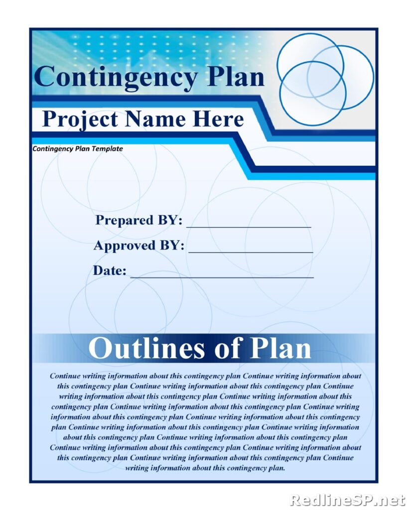 Contingency Plan Example 11
