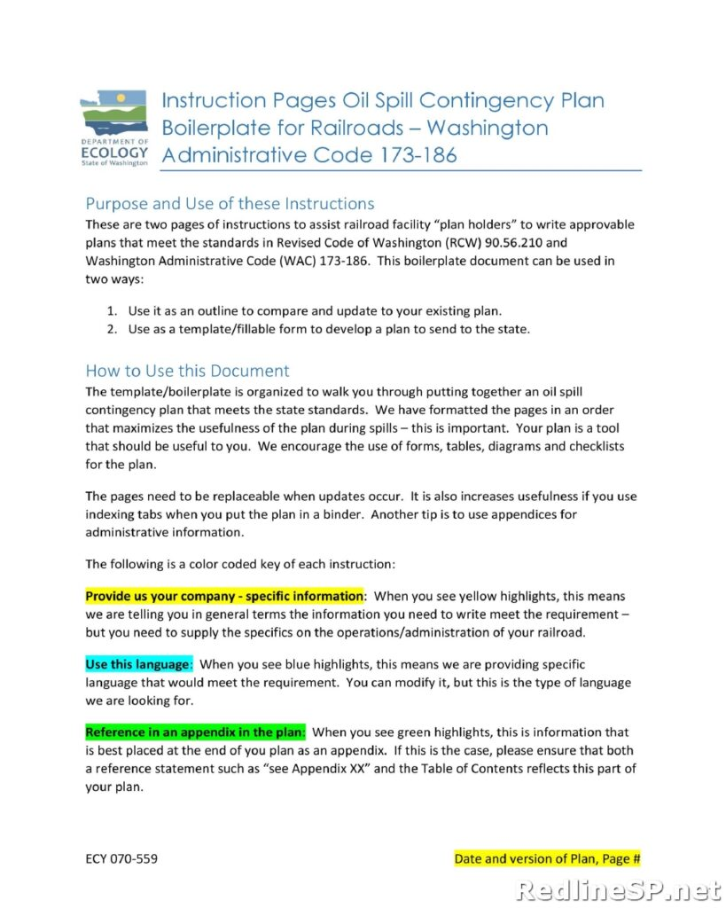 Contingency Plan Template 33