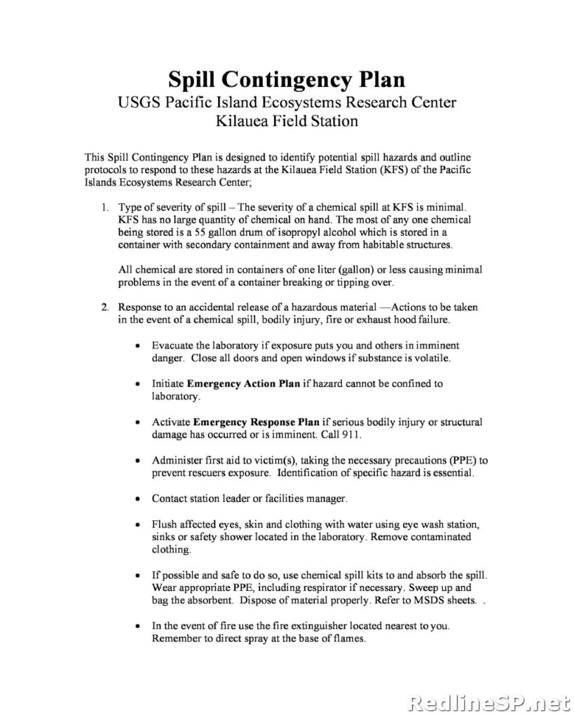Contingency Plan for Business 39