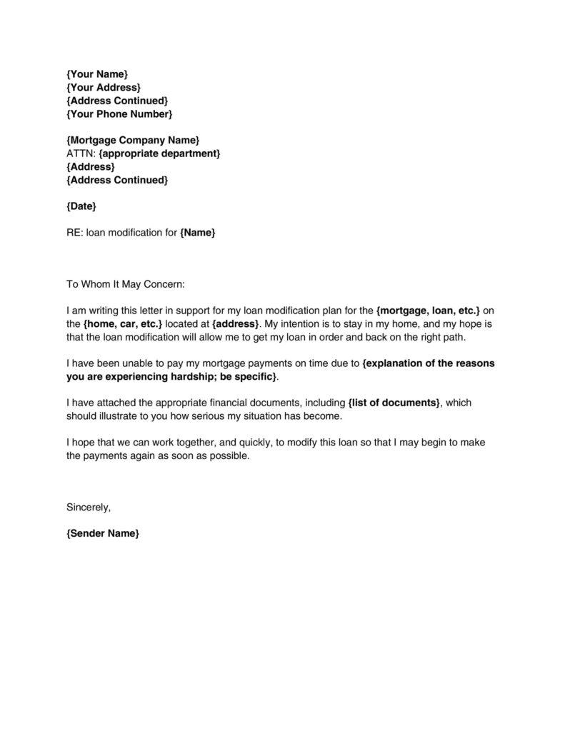 Hardship Letter 03