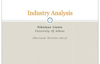 Industry Analysis Template 06