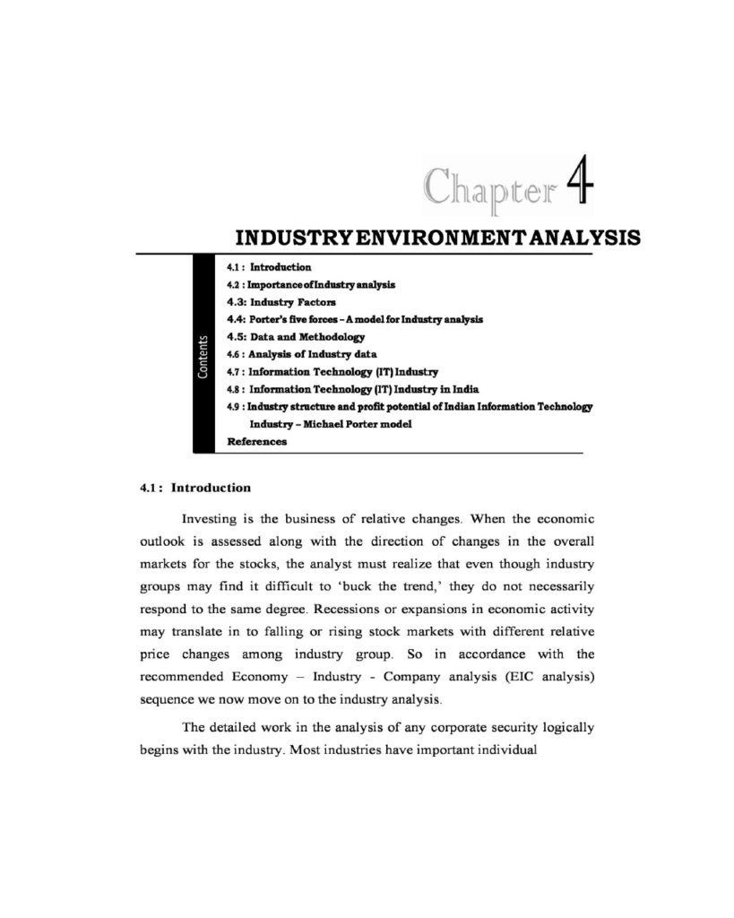 Industry Analysis 07