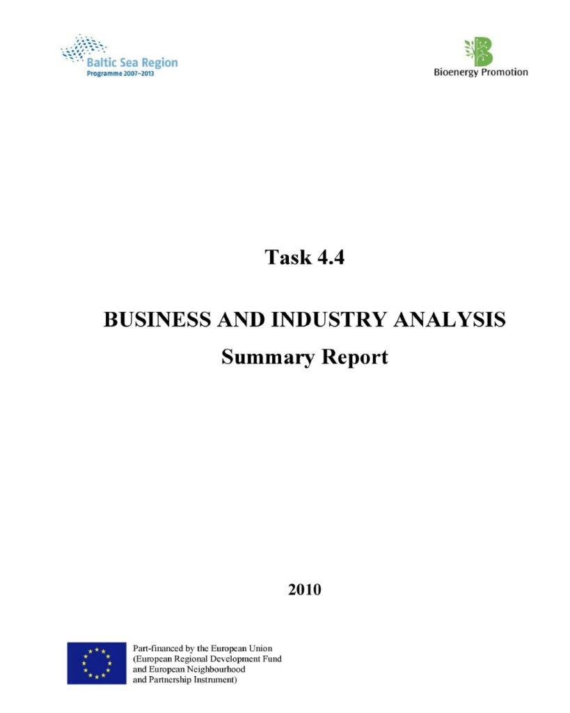 Industry Analysis Report 23