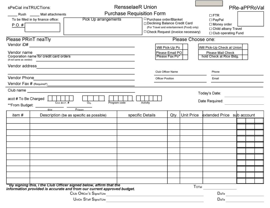 Lap Requisition Form 20