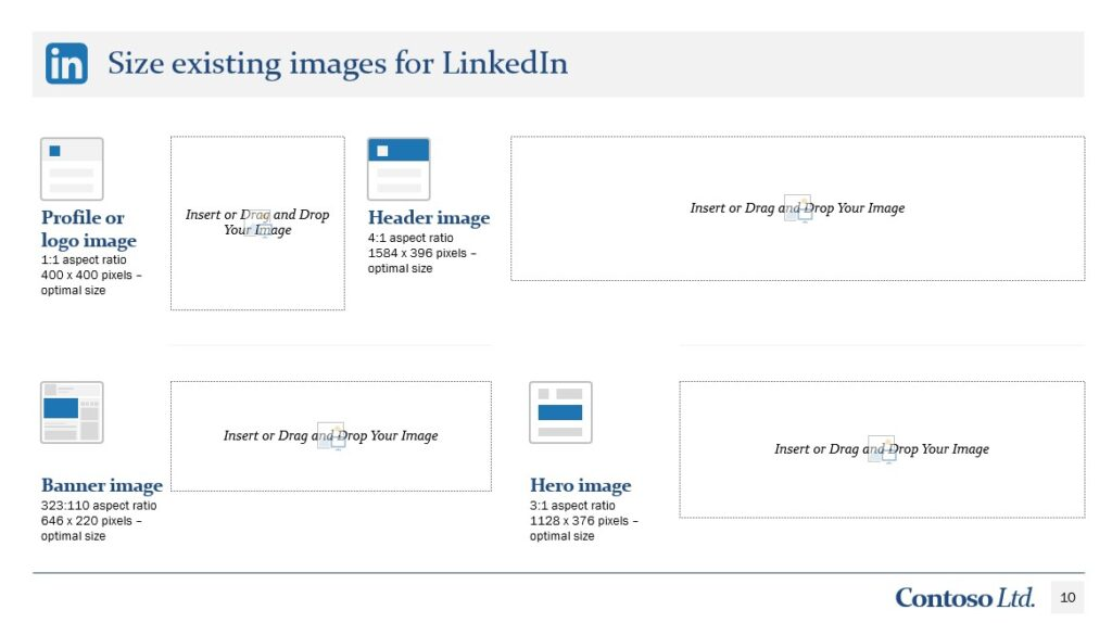 Linkedin Social media checklist Template