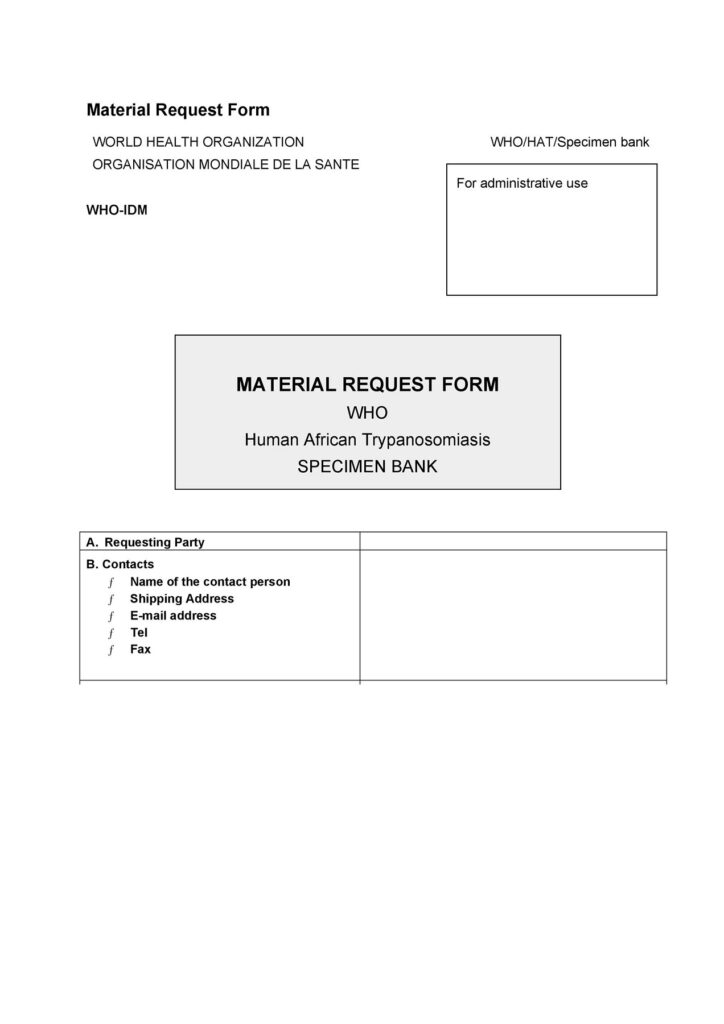 Material Requisition Form 45