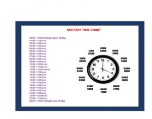 Military Time Chart 28