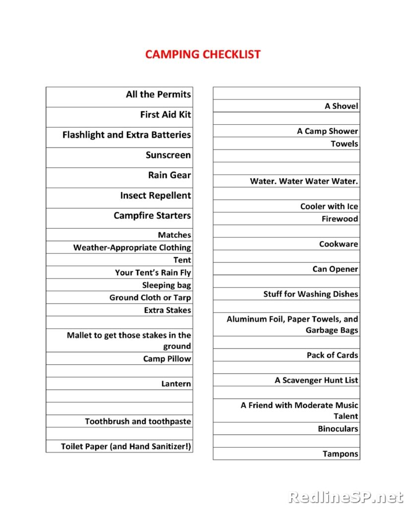 Packing List 06