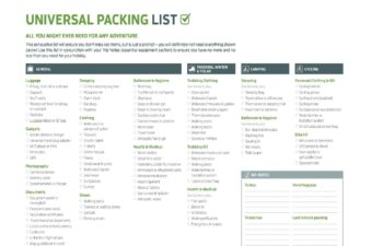 Packing List Sample 41 1
