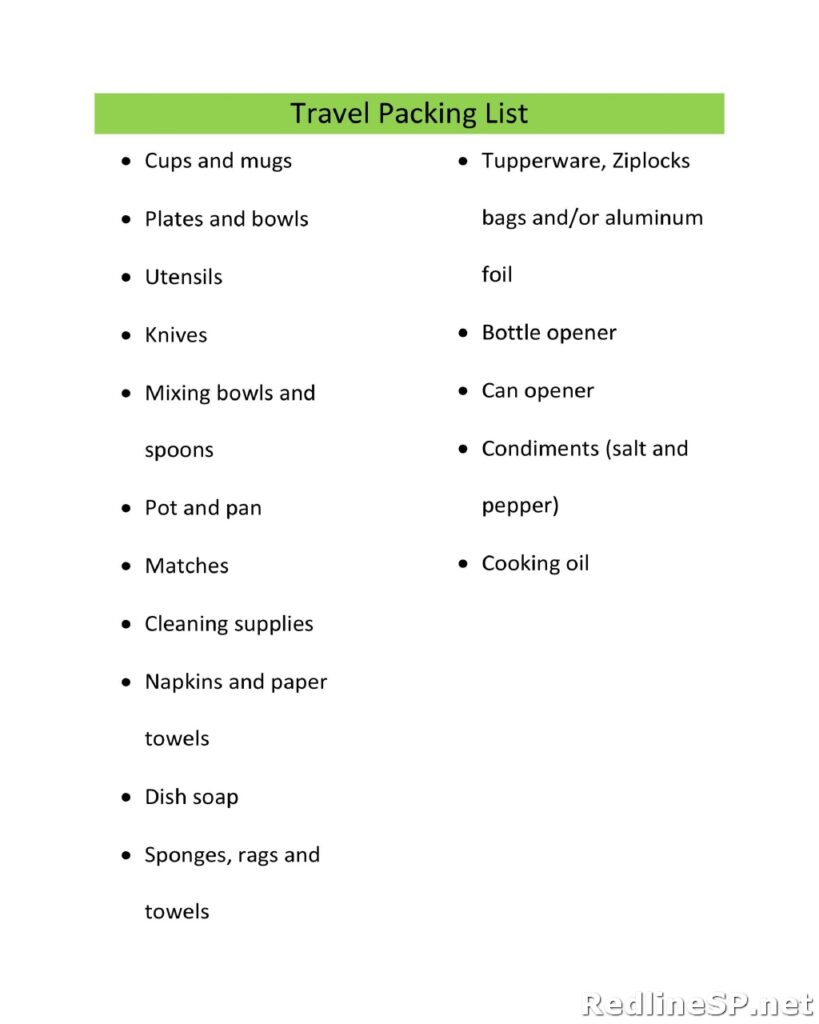 Packing List Template 16
