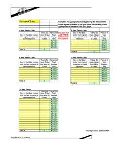 Pareto Chart Excel 11