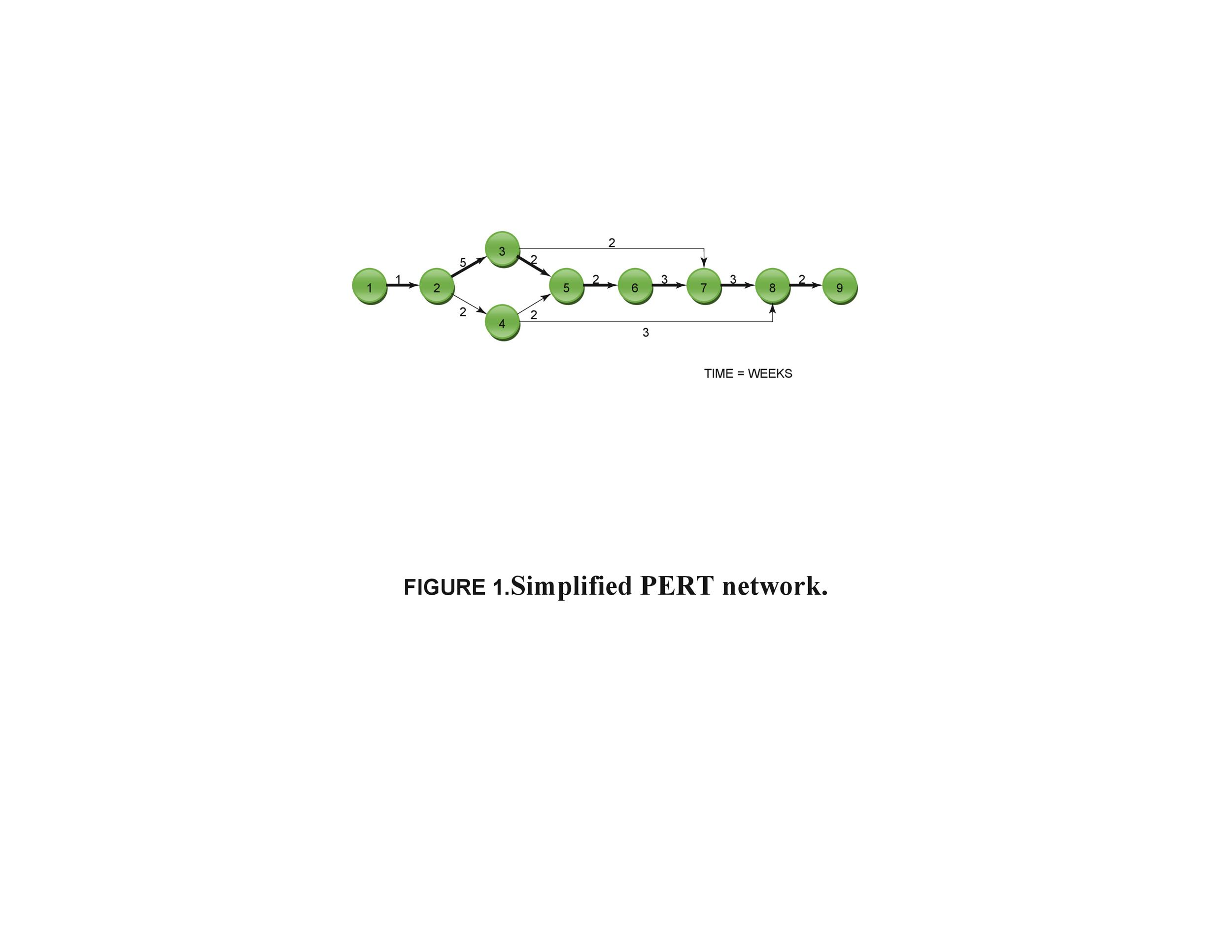 Pert Chart Template 12