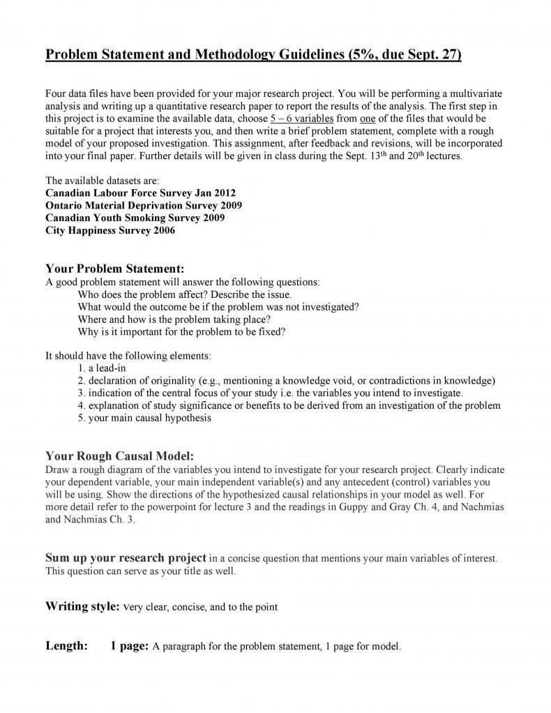 Problem Statement Template 13