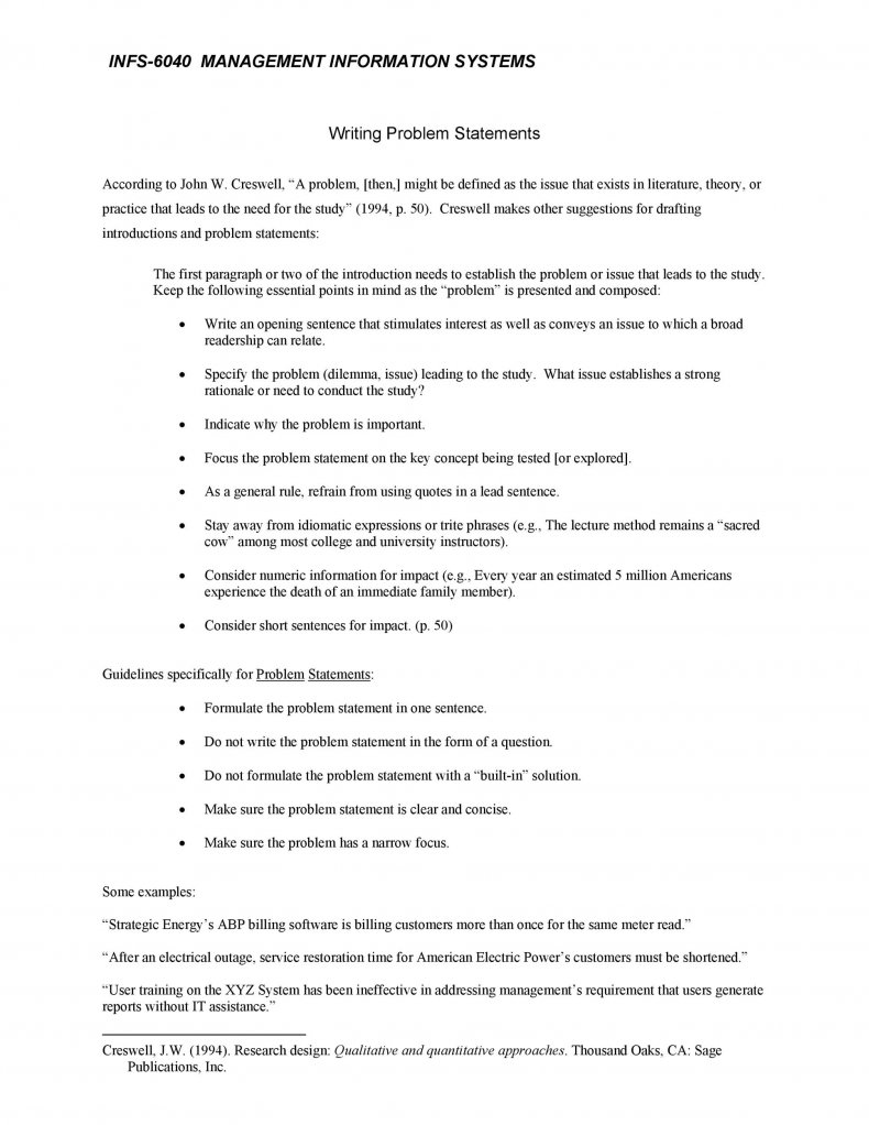 Problem Statement Template 14