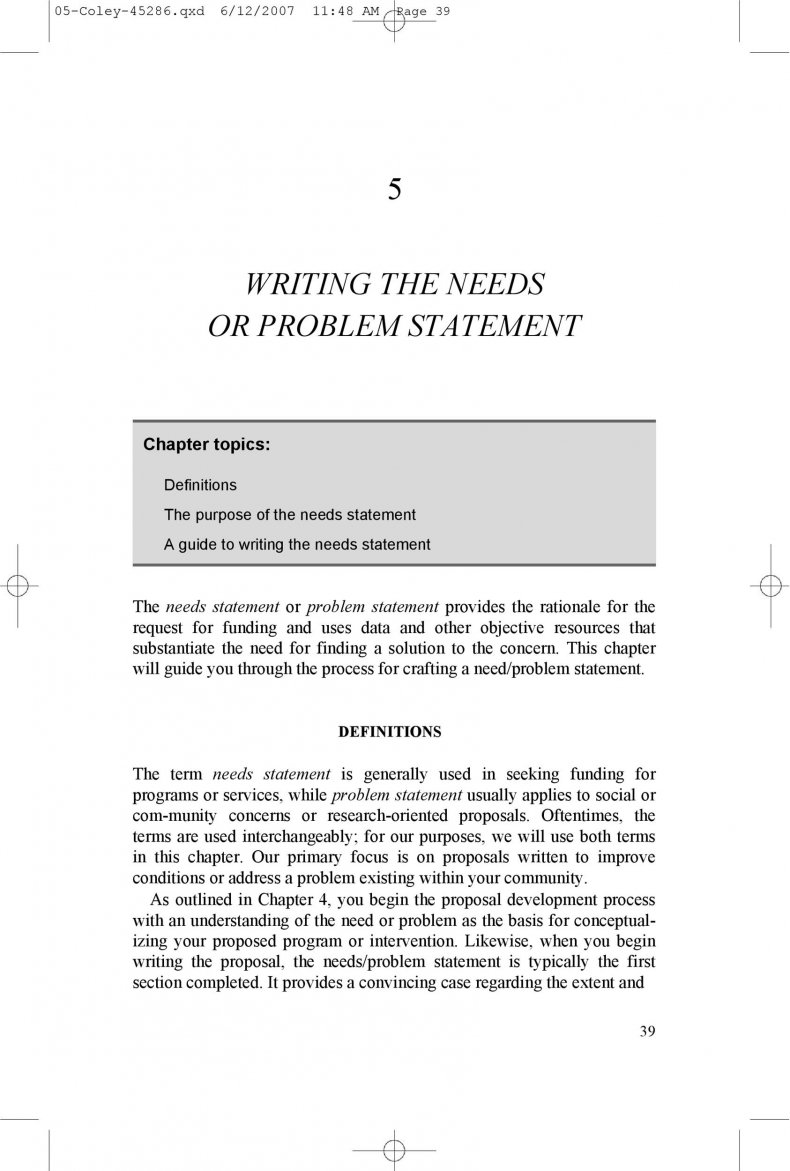 Problem Statement Template 17
