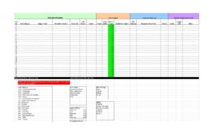 Risk Analysis Template Excel 12