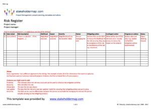 Risk Register 04