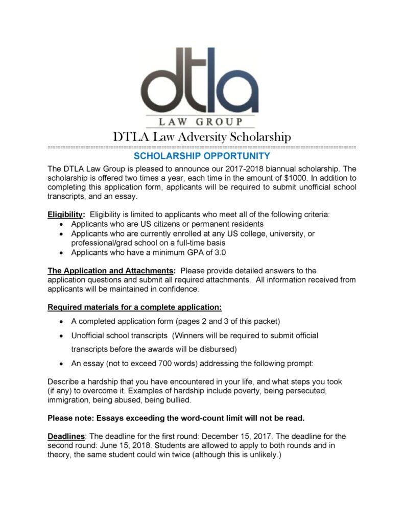 Scholarship Application Form Online 28