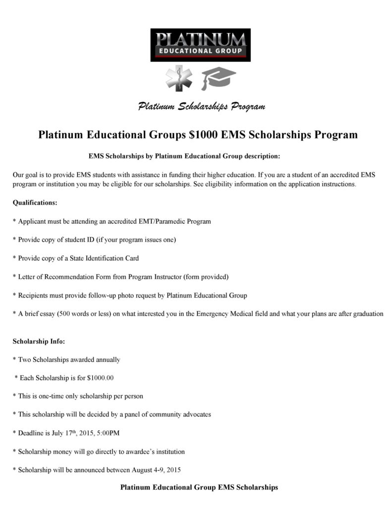 Scholarship Application Form Online 38