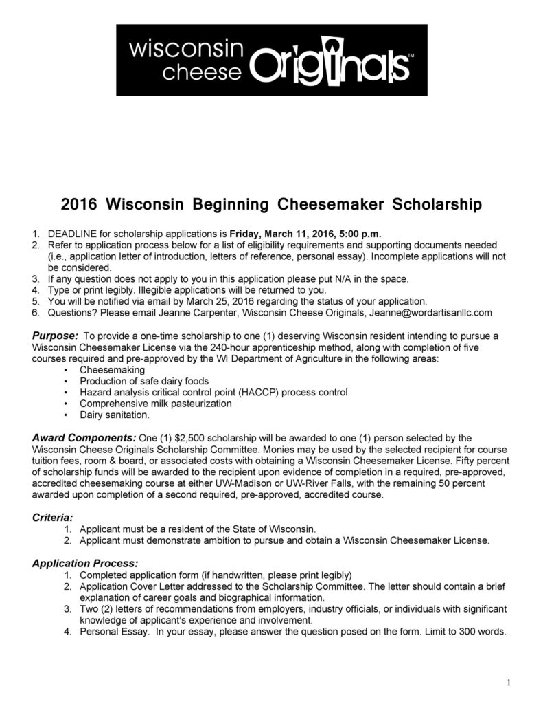 Scholarship Application Form Online 43