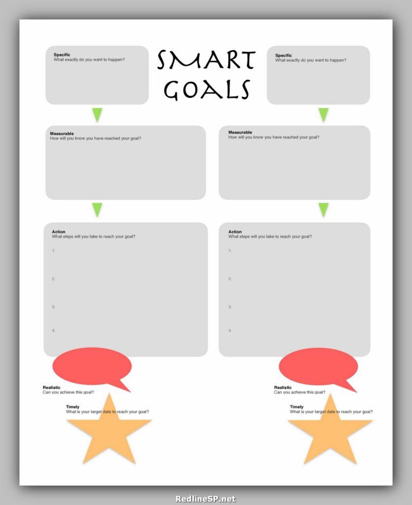 Smart Goals Template 23