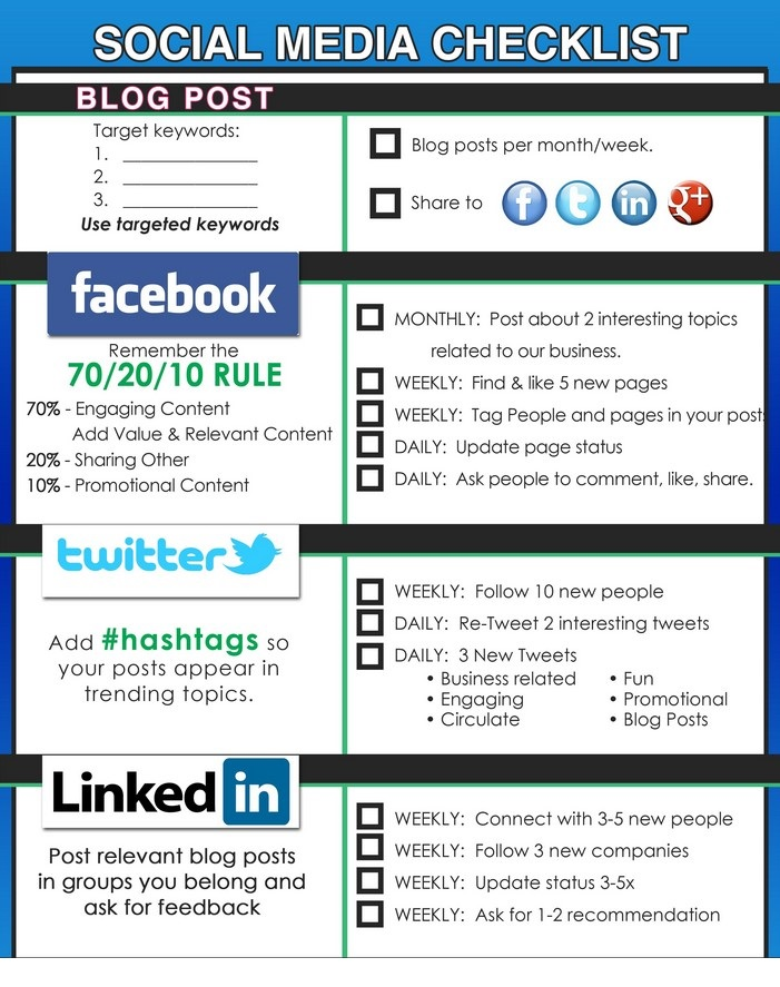 Social Media Checklist 04