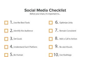 Social media checklist 03